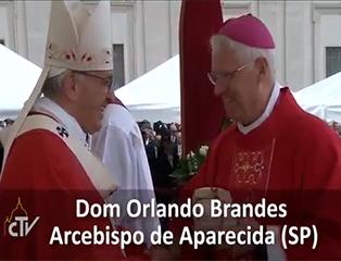 Núncio Apostólico fará imposição do Pálio dos Arcebispos em Dom Orlando
