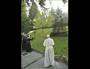 Discurso de Dom Damasceno para o Papa