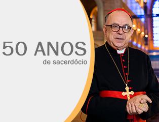 Mensagem de Dom Orlando pelos 50 anos de Ordenação Sacerdotal de Dom Damasceno