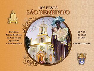 Festa São Benedito 2018
