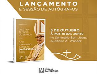 Dom Damasceno lança biografia em Aparecida