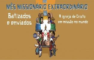 Arquidiocese se prepara para o Mês Missionário Extraordinário