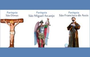 Paróquias celebram padroeiros em Guaratinguetá