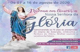 Paróquia Nossa Senhora da Glória celebra padroeira