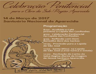 Padres da Sub Região participam da 2ª Peregrinação ao Santuário Nacional