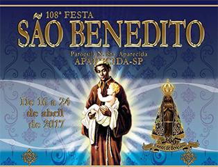 Festa de São Benedito em Aparecida - 2017